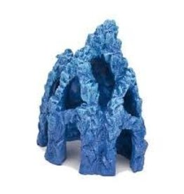 "Penn Plax Penn Plax Ornament Mystic Coral Blue Cave 5.5"""
