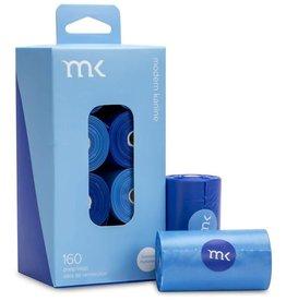 Modern Kanine Modern Kanine Dispenser Blue & Light Blue 60ct