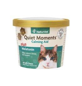 NaturVet Naturvet Quiet Moments + Melatonin Soft Chew for Cats (60ct)