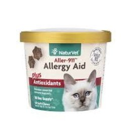 NaturVet Naturvet Aller-911 Aid+Antioxidants Cat Soft Chew 60CT