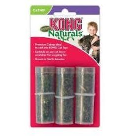 Kong Kong Cat Premium Catnip Refill Tubes 3-Pack