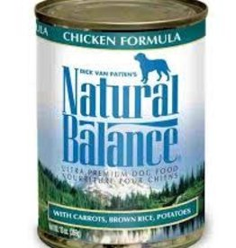 Natural Balance Natural Balance Premium Chicken Canned Dog Formula13oz