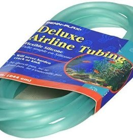Penn Plax Airline Tubing Silicone 200' Spool, Turquoise (price per foot)