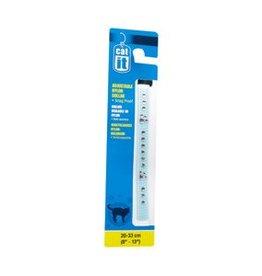 """Catit Catit Buckle Adjustable Nylon Cat Collar with Rhinestones - Blue - 9.5 mm (3/8"""") x 20 cm - 33 cm (8-13"""")"""