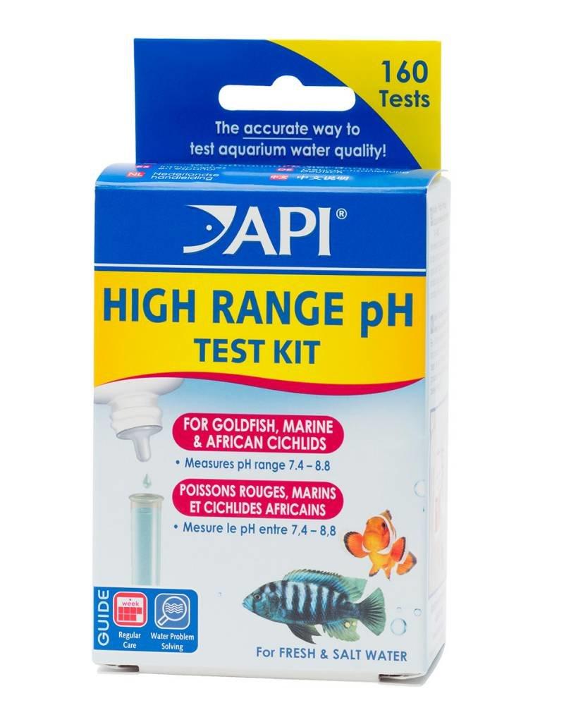 API API High Range pH Test Kit - Freshwater/Saltwater