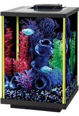 Aqueon Aqueon NeoGlow LED Aquarium Kit - - Lime Green - 5 gColumn al