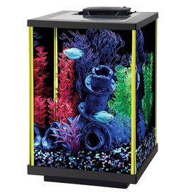 Aqueon Aqueon NeoGlow LED Aquarium Kit - Column - Lime Green - 5 gal