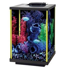 Aqueon Aqueon NeoGlow LED Aquarium Kit - - Lime Green - 5 gColumn al