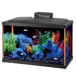 Aqueon Aqueon NeoGlow LED Aquarium Kit - Orange - 10 gal