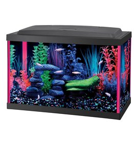 Aqueon Aqueon NeoGlow LED Aquarium Kit - Pink - 5.5 gal
