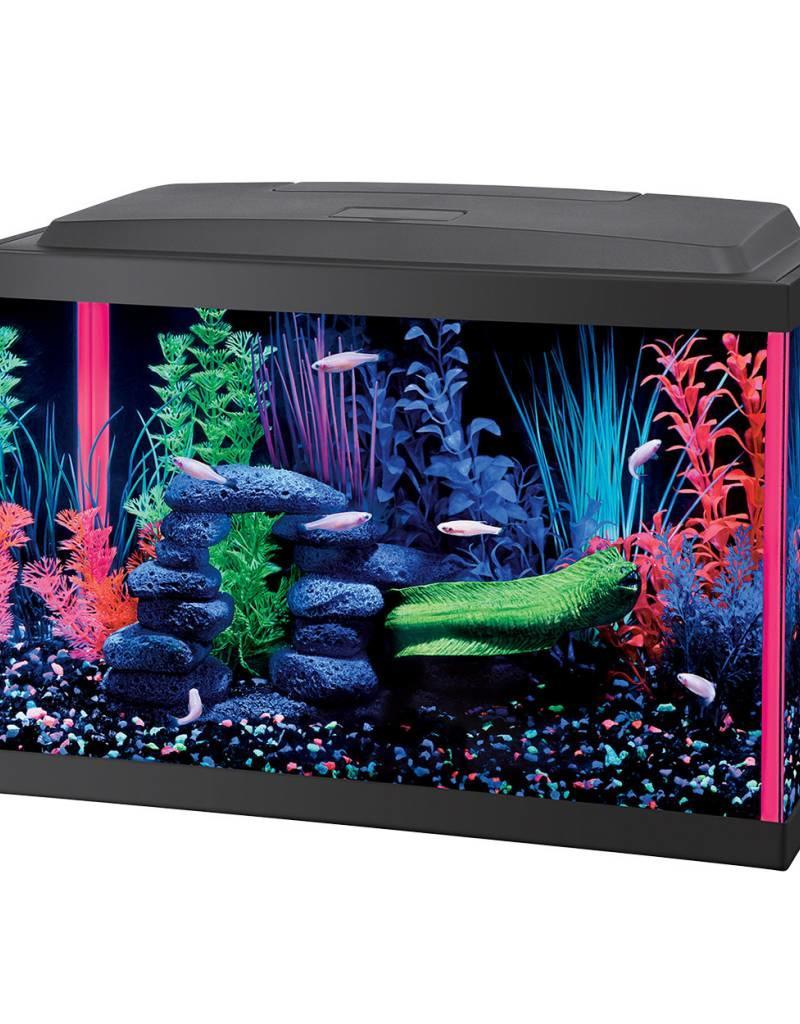 Aqueon Aqueon NeoGlow LED Aquarium Kit - Pink - 5.5 gal