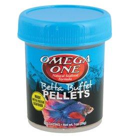 Omega One Betta Buffet Pellets - 1 oz