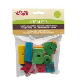 Living World Nibblers Assorted Wood Chew Toys