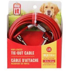 Dogit Dogit Pet Tether Dog Tie-out Cable - Large - 9 m (30 ft)