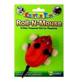 Critterware Roll-N-Mouse Toy