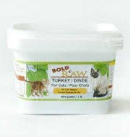 Bold Raw Bold Raw Turkey 1lb Cat Food