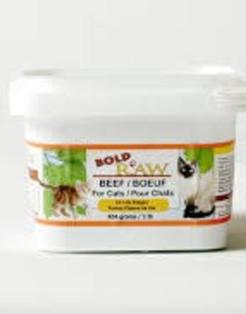 Bold Raw Bold Raw Beef 1lb Cat Food