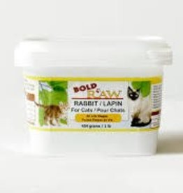Bold Raw Bold Raw Rabbit 1lb Cat Food