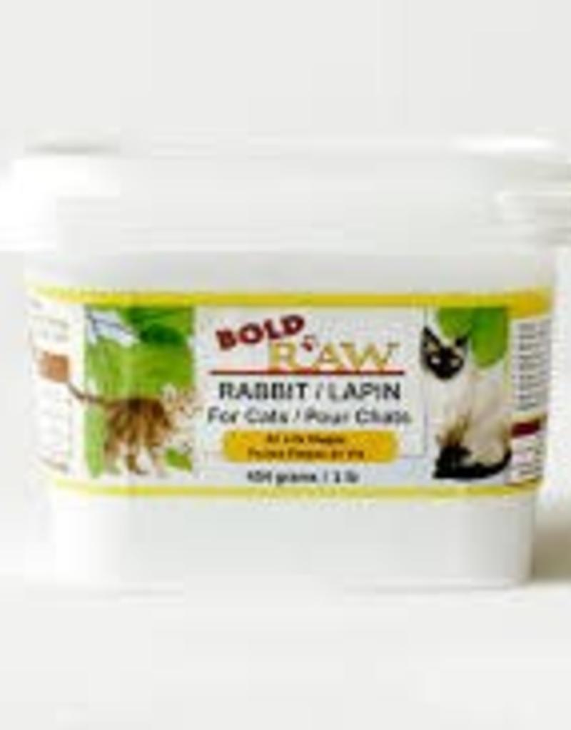 Bold Raw Bold Raw Rabbit 1lb Cat Food