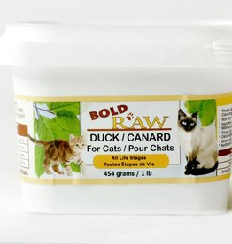 Bold Raw Bold Raw Duck 1lb Cat Food