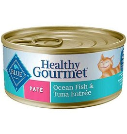 Blue Buffalo Blue Buffalo Healthy Gourmet Pate Oceanfish and Tuna 5oz (156g)