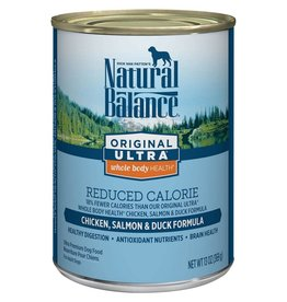 Natural Balance Natural Balance Reduced Calorie Chicken, Salmon & Duck 13oz