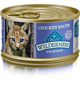 Blue Buffalo Blue Buffalo Wilderness Kitten Canned Chicken Formula 3oz (85g)