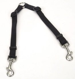 "Coastal 2 Dog Adjustable Nylon Coupler 3/4"" x 24 36"" Black"