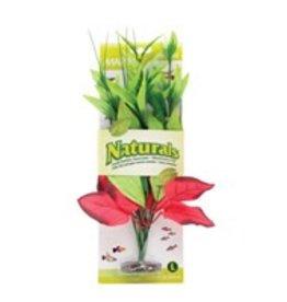Marina Marina Naturals Red & Green Pickerel Silk Plant - Large