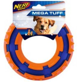NERF Nerf Dog Two-Tone TPR Spike Ring - 6 in