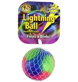 Amazing Pet Products Lightning Ball Smooth 2.6'' Floats & Blinks
