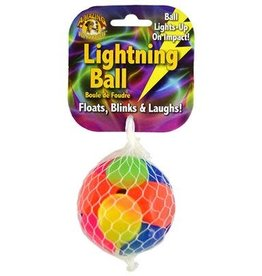 Amazing Pet Products Lightning Ball 2.4'' Floats, Blinks & Laughs