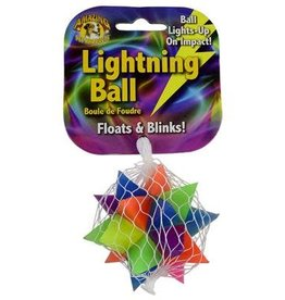 Amazing Pet Products Lightning Ball Star 2.8'' Floats & Blinks