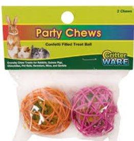 Ware Party Chew Balls 2pc