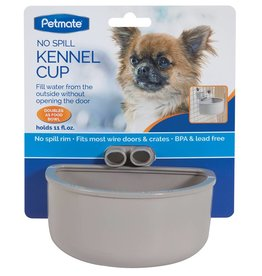 Petmate Kennel Cup With Funnel Gray Small