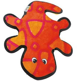 Outward Hound Invincibles Gecko Red & Orange 2 Squeaks