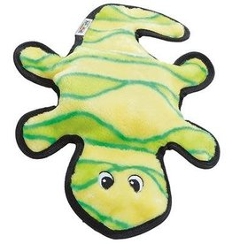Outward Hound Invincibles Gecko Yellow & Green 2 Squeaks