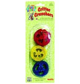 CRITTER BUNCH Critter Crunchers 3 Pcs