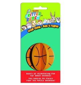 CRITTER BUNCH Critter Crunchers Wood Chew Basketball