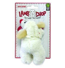 MULTIPET Lamb Chop Cat Toy 4''