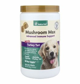 NaturVet NATURVET Mushroom Max Advanced Immune Support