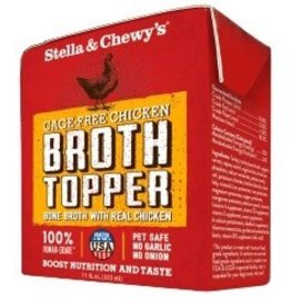 Stella & Chewy's STELLA & CHEWY'S Broth Topper Cage Free Chicken 12 x 11 oz