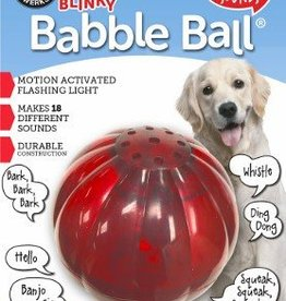 Pet Qwerks Pet Querks Blinkey Babble Ball Small