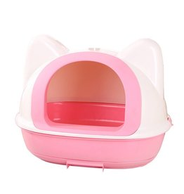 Animal Treasures Animal Treasures Kitty Kan Litter Pan - Pink