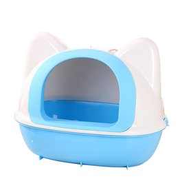 Animal Treasures Animal Treasures Kitty Kan Litter Pan - Blue