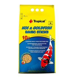 Tropical Tropical Koi & Goldfish Basic Sticks Bag 10L