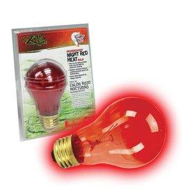 Zilla Incandescent Night Red Heat Bulb - 150 W