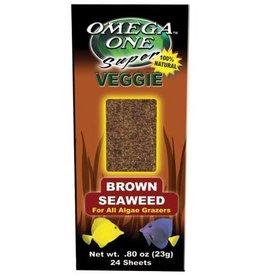 Omega One Super Veggie Seaweed Sheets - Brown - 24 pk