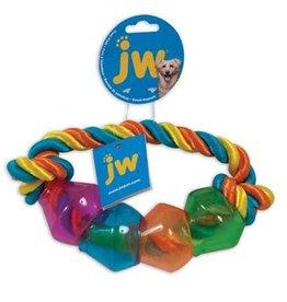 JW Pet Treat Pod Rope Ring Large