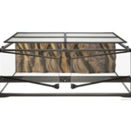 "Exo Terra Exo Terra Natural Terrarium - Advanced Reptile Habitat - Low, 36"" x 18"" x 12"""